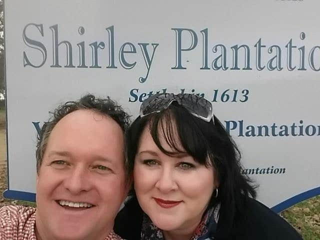 Holly and Jimbo Shirley in January 2016.