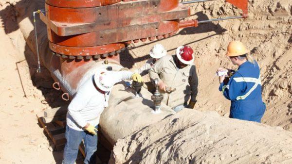 Broken Gas Pipe Removed, Investigation Underway
