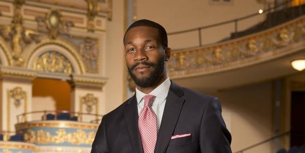 Randall Woodfin takes office as mayor of Birmingham on Nov. 28, 2017.