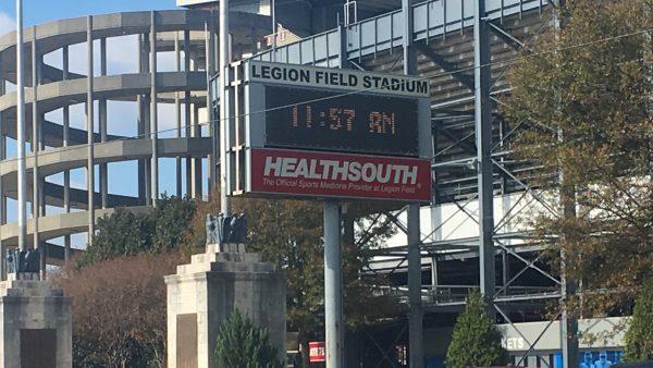 Legion Field will host Birmingham's new professional football team.