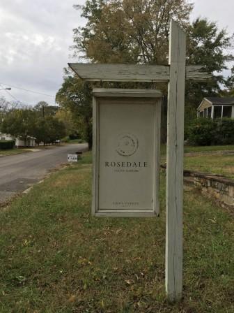 Rosedale in Homewood