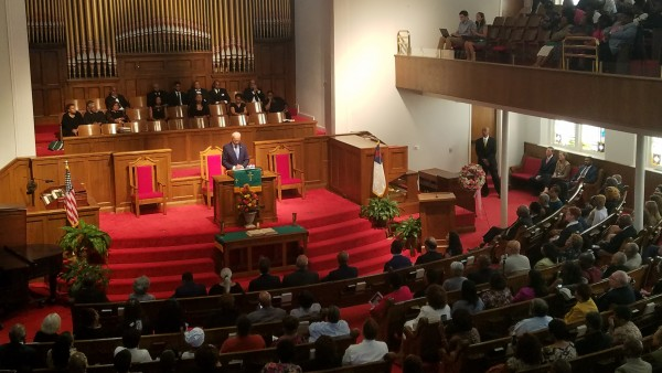 Biden at 16th Street Baptist Church Commemoration: 'Hate is on the Rise'