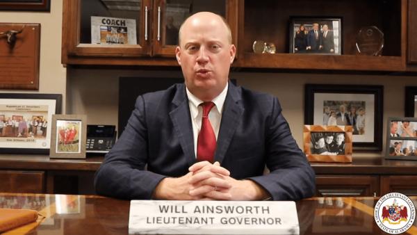 Lt. Gov. Ainsworth: 'We've Got to Get This Under Control'