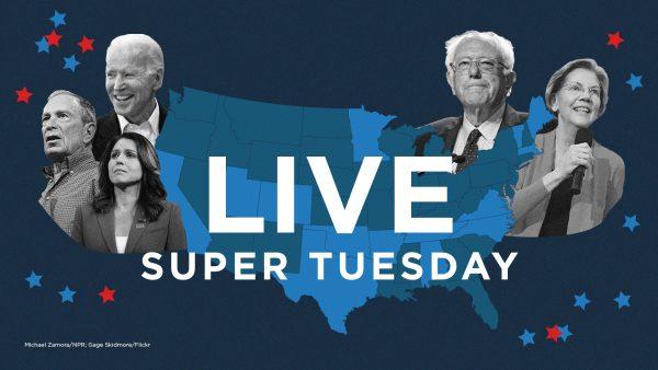 NPR Live Coverage: 2020 Super Tuesday
