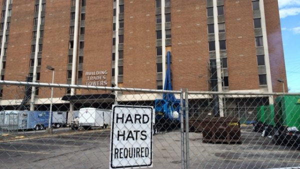 Death at Building Trades Towers: Southside Apartment Building's Troubled Past