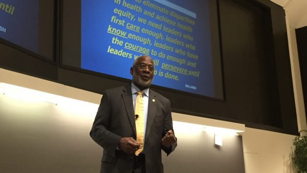Former Surgeon General Satcher to UAB: Take Risks