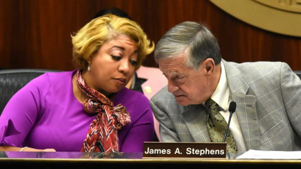 https://wbhm.org/wp-content/uploads/2020/01/Commissioners-Lashunda-Scales-and-Jimmie-Stephens-confer-during-Thursdays-meeting-1-7-2020-1024x517-600x338.jpg
