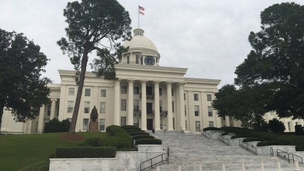 View of the Alabama State Capitol Building