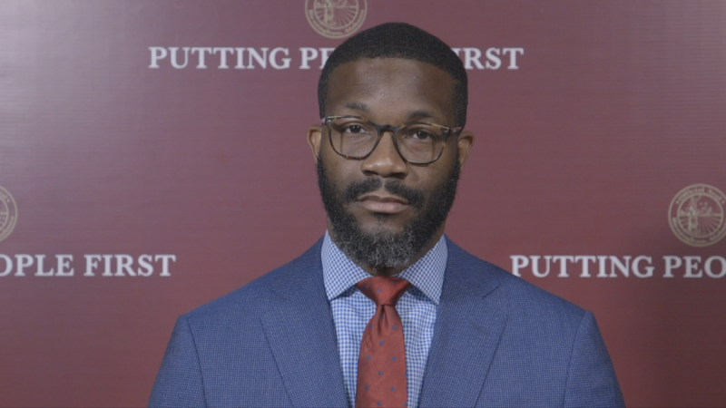Mayor Randall Woodfin presented his proposed operating budget to the Birmingham City Council Tuesday.