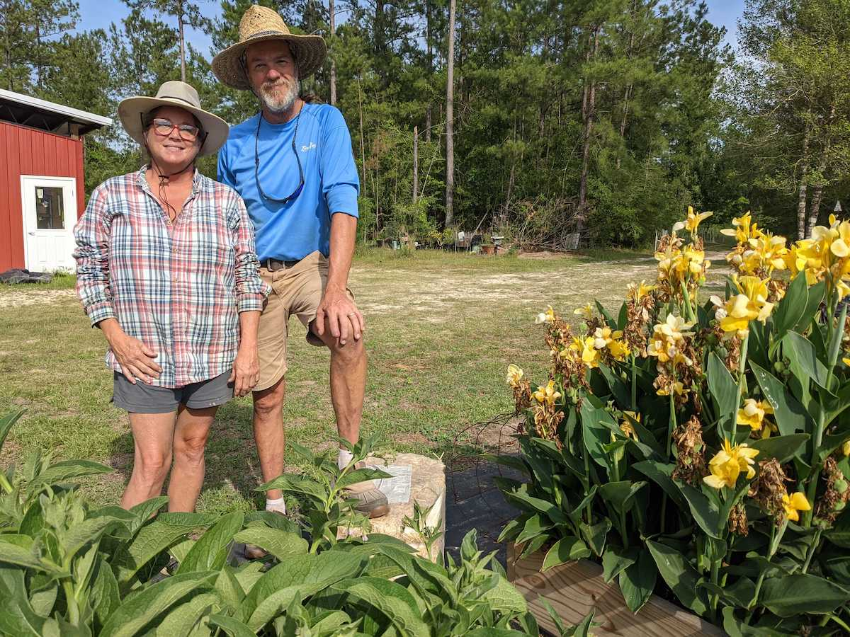 """Danny and Leslie Fox have been preparing for power outages at their rural Alabama homestead for years by investing in generators and water reservoirs, and planting and raising all of their own food. They were okay with me calling them """"preppers."""""""
