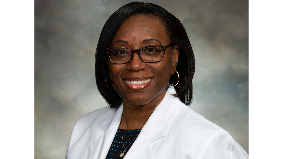 Headshot of Dr. Cynthia Crowder-Hicks, pulmonologist with Mobile's Infirmary Health.