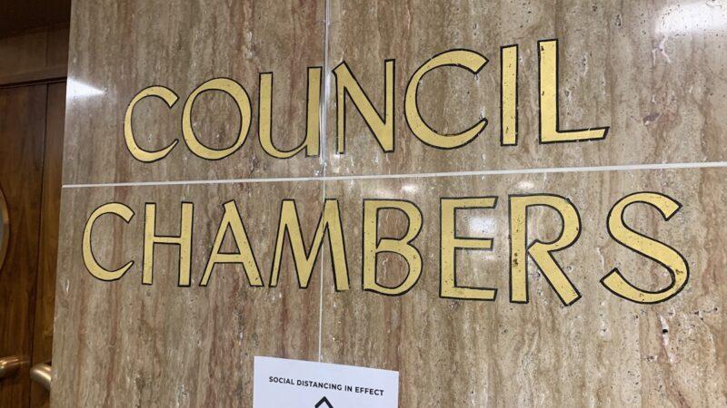 Birmingham City Council Chambers Sign
