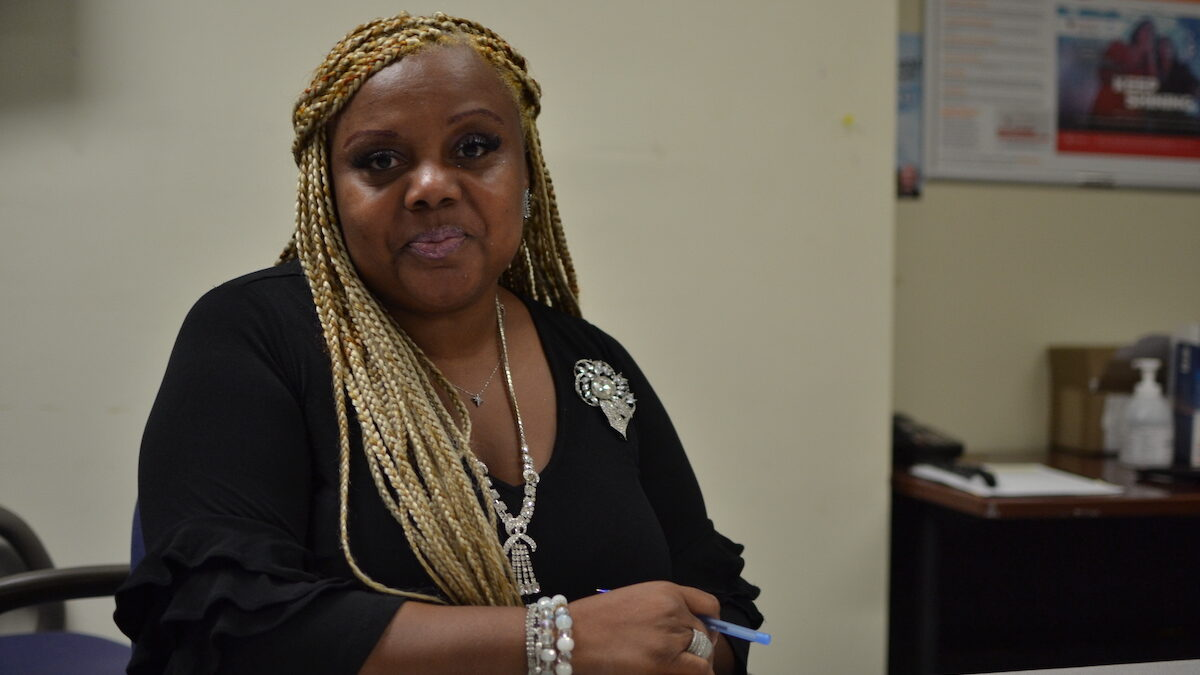 Veronica Magee is the Deputy Director of Brotherhood, Inc., a community-based organization in New Orleans that offers HIV testing and other medical services.
